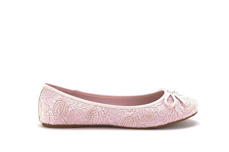 Scarpe Donna GOLD AND GOLD Ballerine donna in pizzo Rosa