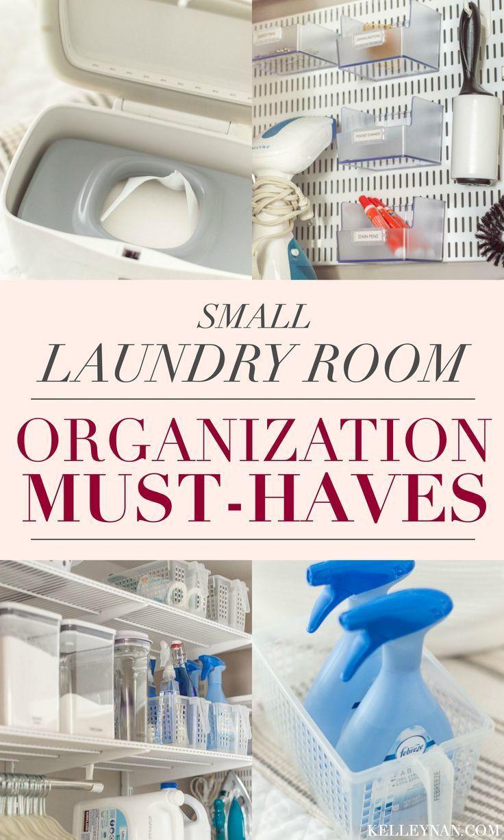 Small Laundry Room Organization Ideas Kelley Nan In 2020 Small Laundry Room Organization Laundry Room Organization Room Organization