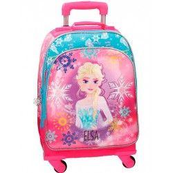 Mochila Trolley Frozen Elsa 4 ruedas