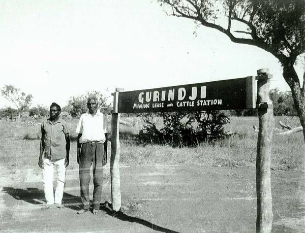 This was probably the first time Gurindji people had seen their name for themselves written down.