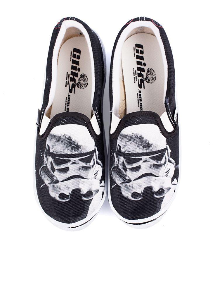Tenis Glics Casual Truper, Visítanos en www.clickonero.com.mx ... Camina con estilo... #fashion #moda #zapatos #tenis #calzado #starwars #negro #blanco