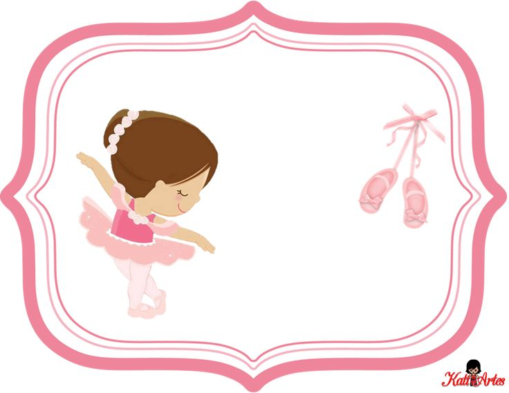 Pretty Ballerina: Free Printable Kit.