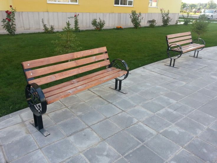 www.haspark.com.tr  Daire lama ayaklı oturma bankı
