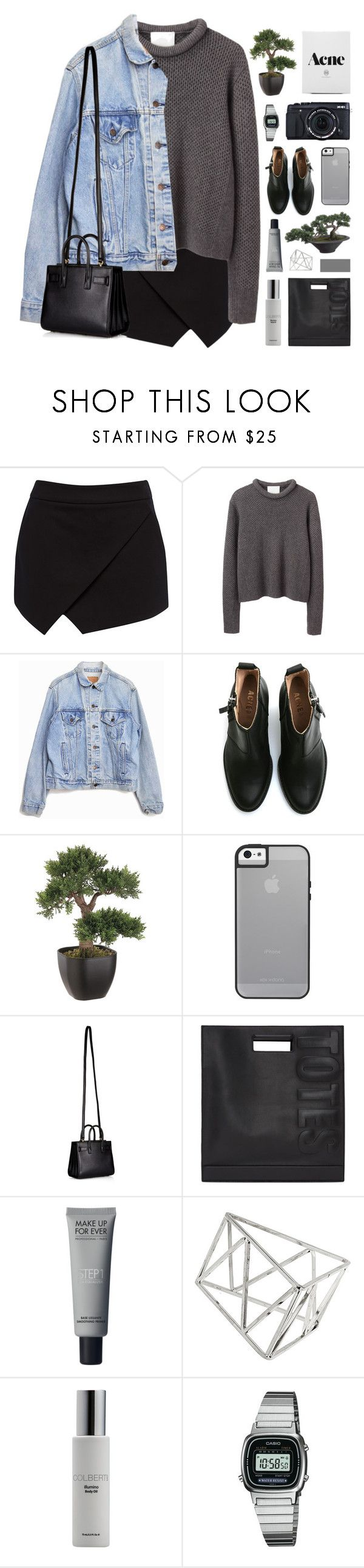 """ROSIE"" by feels-like-snow-in-september ❤ liked on Polyvore featuring Forever New, 3.1 Phillip Lim, Levi's, Acne Studios, Fujifilm, Yves Saint Laurent, Topshop, Colbert MD, Casio and philosoqhytags"