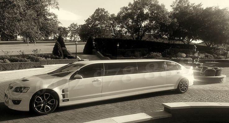 the HSV Wedding car on duty @ Sebel Hunter Valley