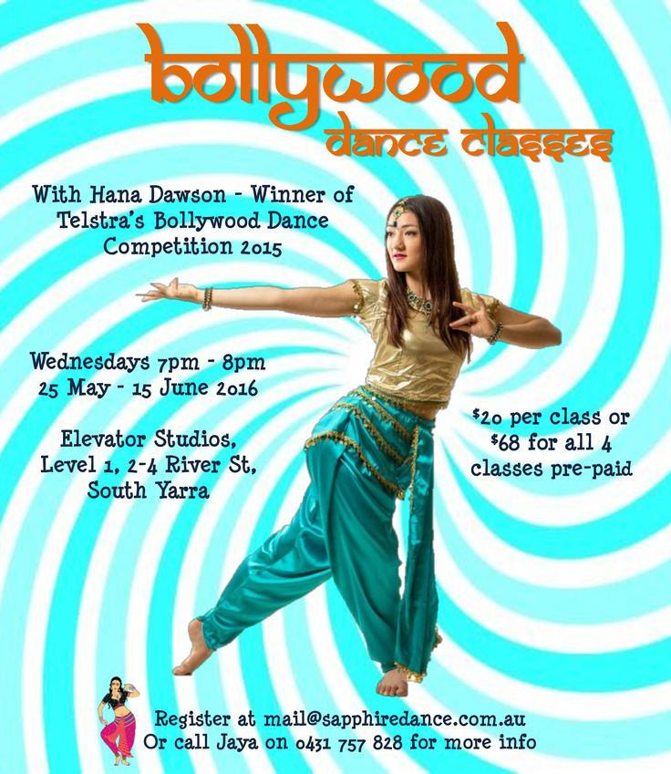 Sapphire Dance hosts Bollywood dance workshops in Melbourne for the first time! You can't miss out!