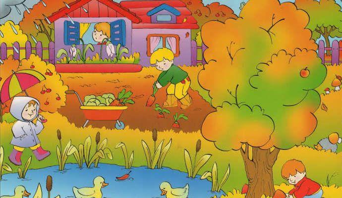 Загадки про осень для дошкольников с ответами