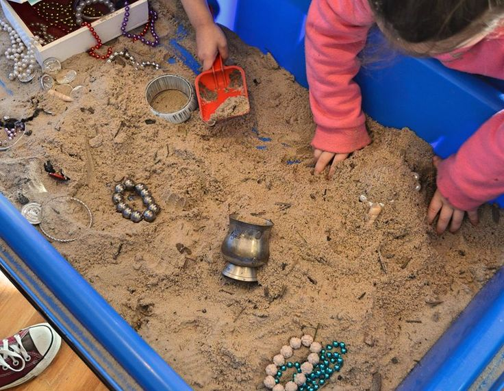 The children have been busy hunting for treasure in the Red Gums Room at Explorers Point Cook!