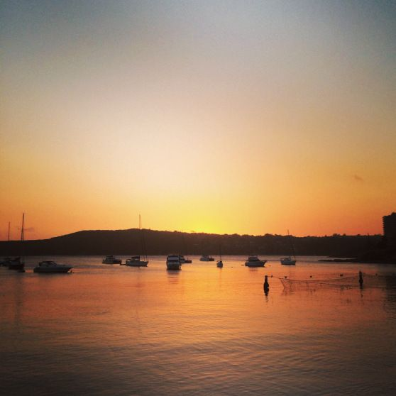Gorgeous Sunset Seen In Manly, NSW Australia #Sydney