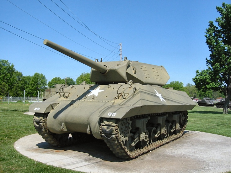 The M10 tank destroyer, formally 3-inch Gun Motor Carriage, M10 was a United States tank destroyer of World War II based on the chassis of the M4 Sherman tank. It was numerically the most important U.S. tank destroyer of World War II and combined a reasonably potent anti-tank weapon with a turreted platform (unlike the previous M3 GMC, whose gun was capable of only limited traverse). Despite the introduction of more-powerful types as replacements...