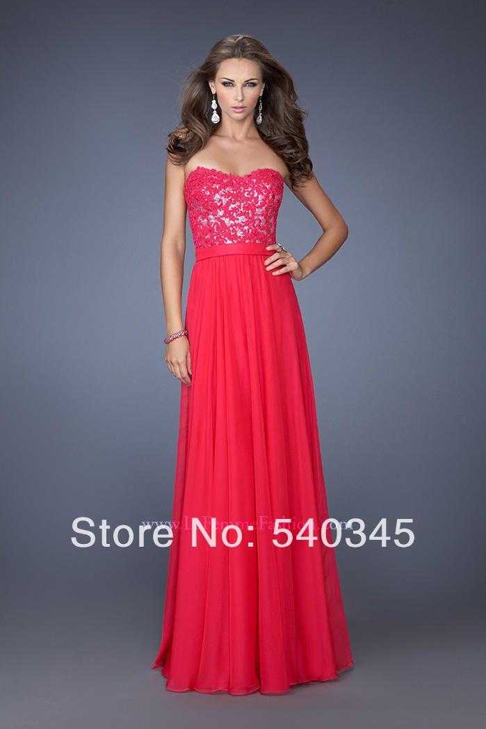 2014 красный и синий пром платья быстрая доставка прямо без бретелек вечерние платья аппликации блестками line пояса шифон ну вечеринку платье zj r23 купить на AliExpress