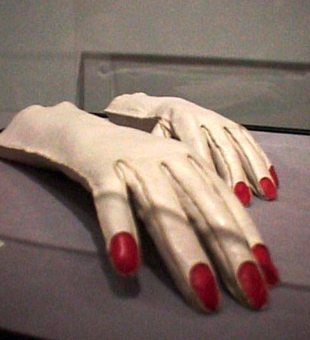 Gloves by Elsa Schiaparelli (1936) @artnet.com