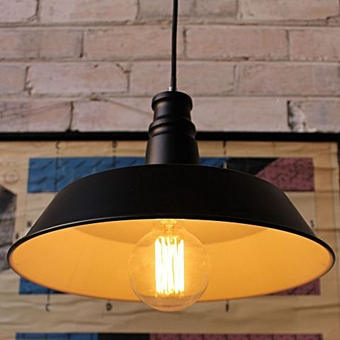 Exude smart, vintage looks in your home with the masculine metallics of the Station Pendant Light from Fat Shack Vintage.<br>