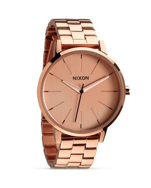 Nixon The Kensington All Rose Gold Watch, 36.5mm