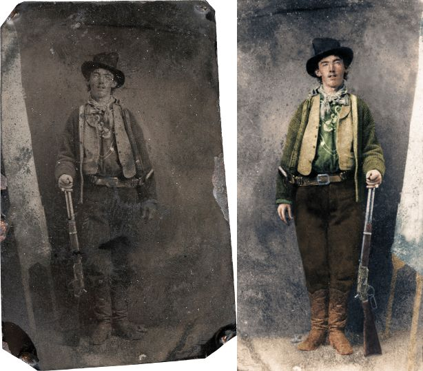 William H Bonney  (Billy the kid)