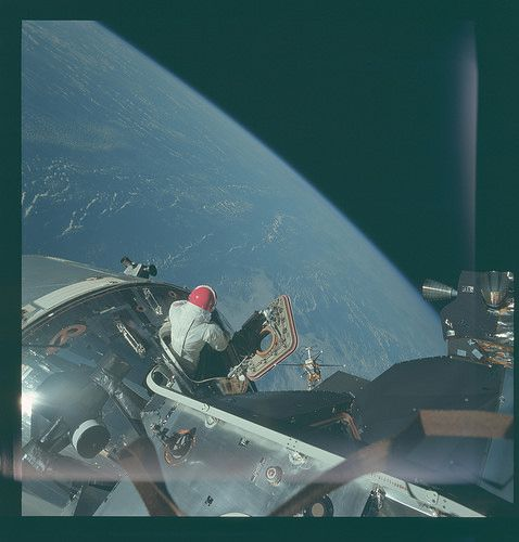 AS09-20-3065 | Apollo 9 Hasselblad image from film magazine … | Flickr