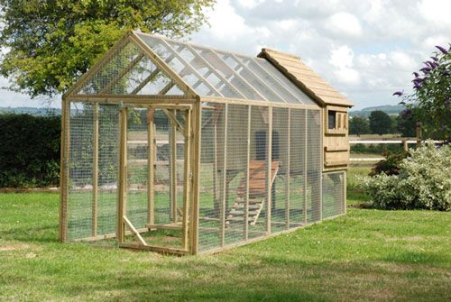 50 best images about chicken run ideas on pinterest a for Fancy chicken coops for sale