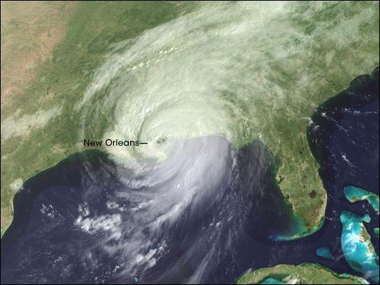 Louisiana - Hurricane Katrina, storm impacts