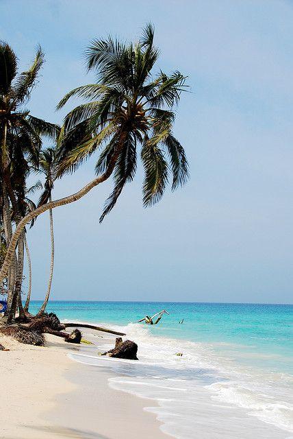 Playa Blanca, Colombia.  http://www.calmdownnow.com