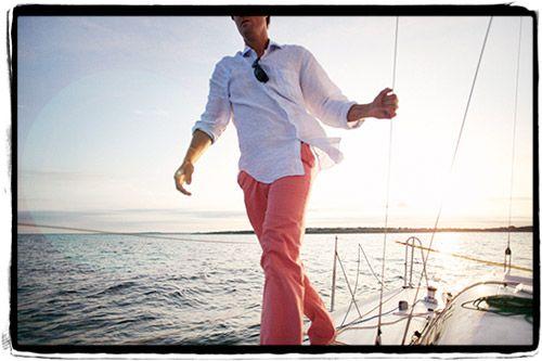 nantucket pants, white shirt : Men Style, Preppy Men, Classic Prep, Dreams Boats, Living Prep, Nantucket Pants, Call Nantucket, Preppy Porn, Nantucket Red