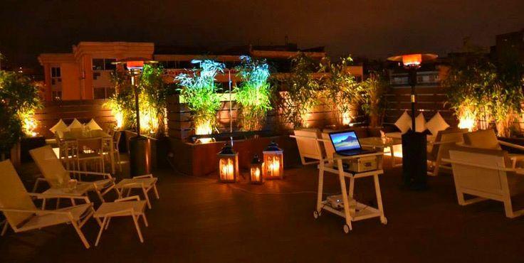 Secret Terrace Lounge by night !!!