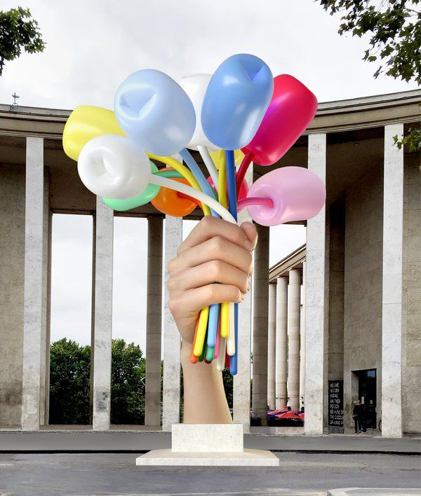 Jeff Koons Is Giving Sculpture to Paris to Remember Terror Victims - NYTimes.com