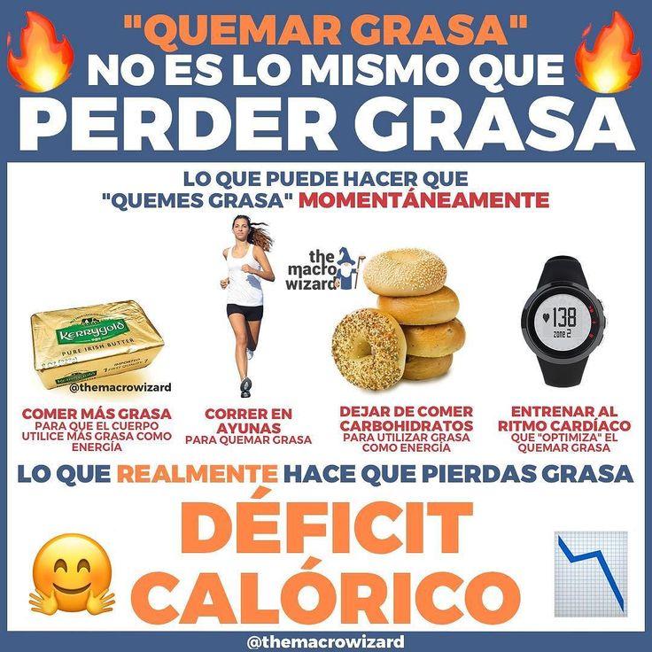QUEMAR GRASA vs REALMENTE PERDER GRASA Existen miles de trucos y estrategias para hacer que tu cuerpo movilice la grasa o como se suele decir queme grasa. -Lo más gracioso de todo es que ninguno de esos titulares o trucos revolucionarios mencionan algo que tiene que ocurrir SÍ o SÍ. -Sí puedes dejar de comer carbohidratos y comer más grasa para que el cuerpo utilice más grasa como energía.También puedes ponerte a correr como un loco antes de desayunar por aquello de movilizar los depósitos…