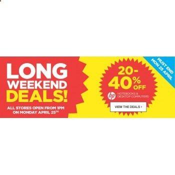 20-40% OFF Sale on Notebooks  Desktop Computers @ Warehouse Stationery - Bargain Bro