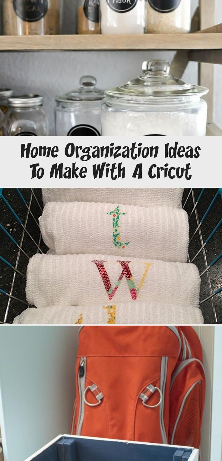 Home Organization Ideas To Make With A Cricut Best Diy