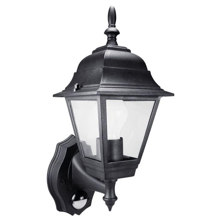 byron elro security lantern complete with motion detector max es in home u0026 garden yard garden u0026 outdoor living outdoor lighting outdoor string lights - Motion Detector Lights