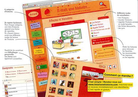 La bibliothèque numérique 3-10 ans Gratuite, pour élèves, parents, enseignants | Français Langue étrangère | Scoop.it