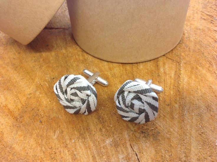 Fabric custom cuff links by LillyDillys on Etsy