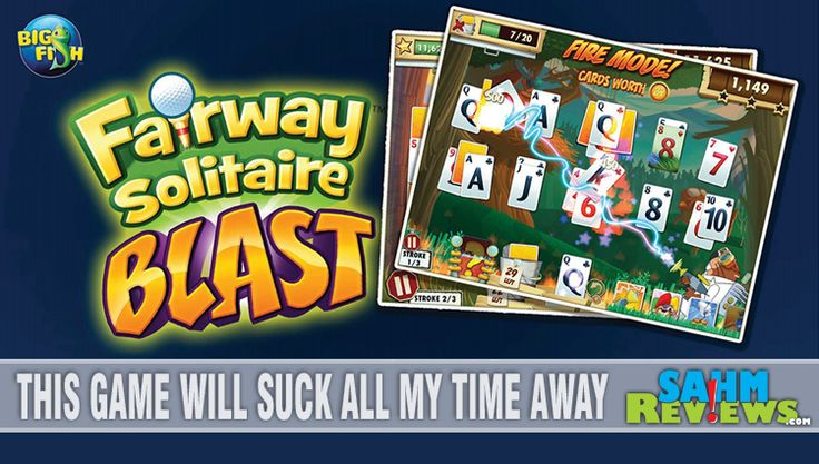 See the new Fairway Solitaire Blast from Big Fish Games - SahmReviews.com