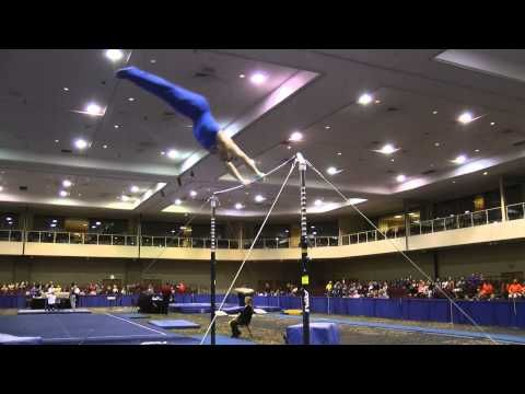 ▶ Chris Brooks - High Bar - 2014 Winter Cup Prelims - YouTube