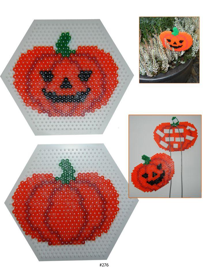 Jack-o-Lantern - Halloween Hama perler beads