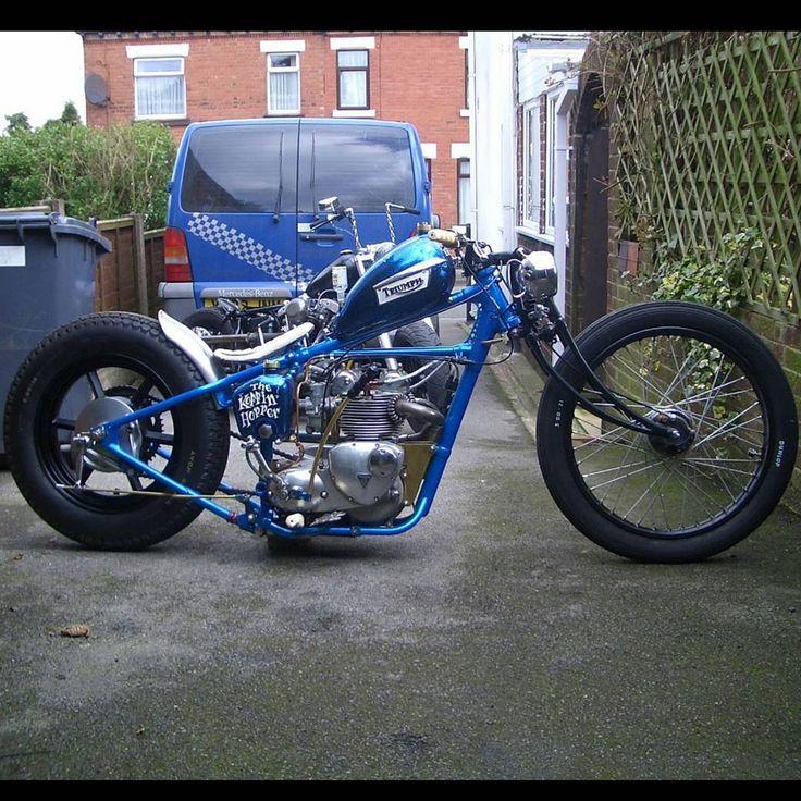 #Custom #Triumph #Chopper #British #DreamBike #England #Motorcycle #Bobber