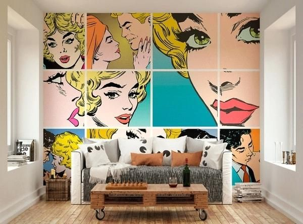 15 Captivating Pop Art Interior Design Ideas Pop Art Decor Interior Design Art Pop Art Wallpaper