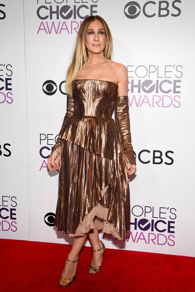 Sarah Jessica Parker in J. Mendel People's Choice Awards 2017