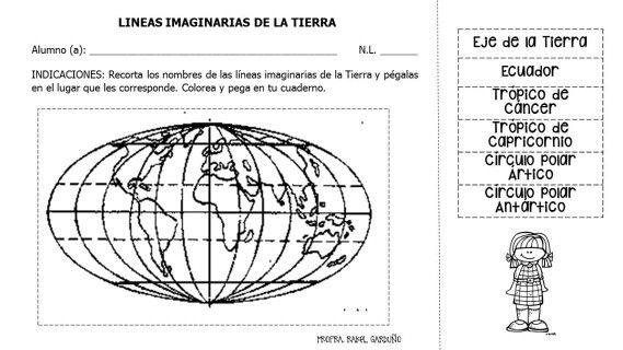 Líneas imaginarias de la Tierra