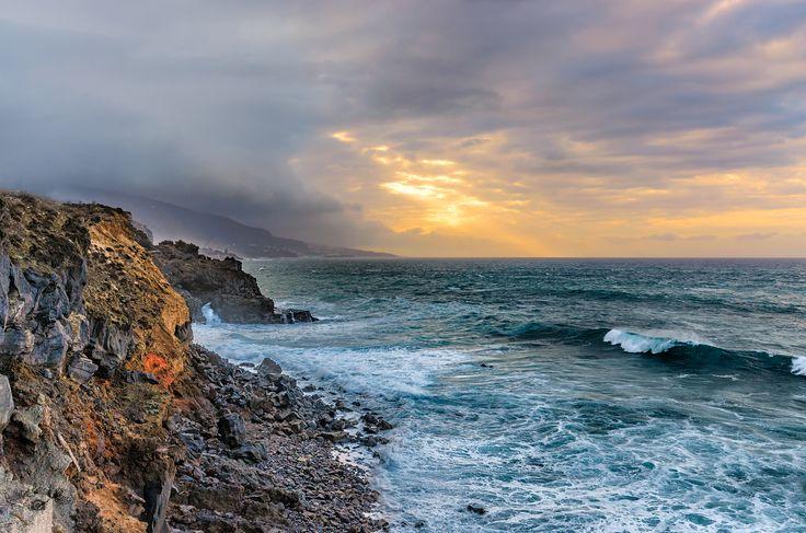An der Nordküste von Tenerife.  10. JUNI 2017 EIN SPAZIERGANG VON ICOD EL ALTO NACH LOS REALEJOS