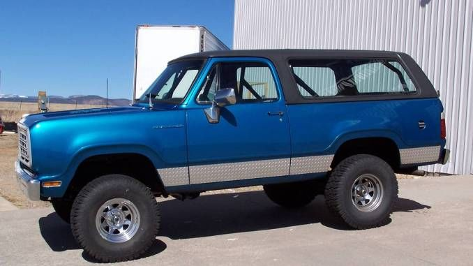 1975 Full Removal Top In Albuquerque Nm Dodge Ramcharger Dodge Power Wagon