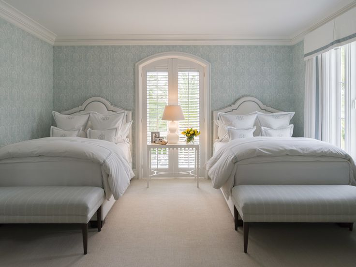 306 best images about bedrooms guest room with twin beds for Pictures of beautiful guest bedrooms