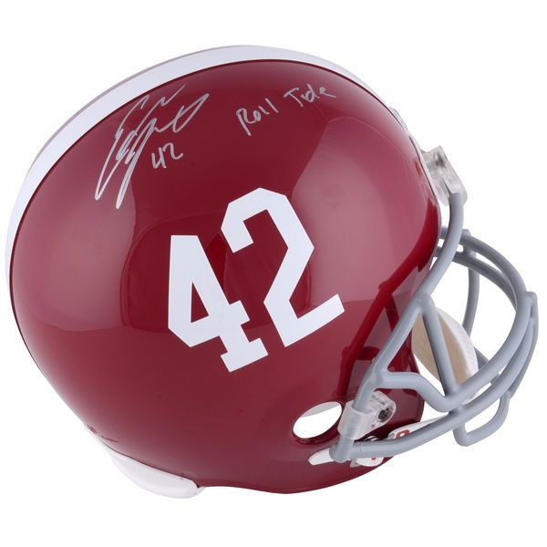 Eddie Lacy Alabama Crimson Tide Fanatics Authentic Autographed Riddell Replica Helmet With Roll Tide Inscription - $349.99