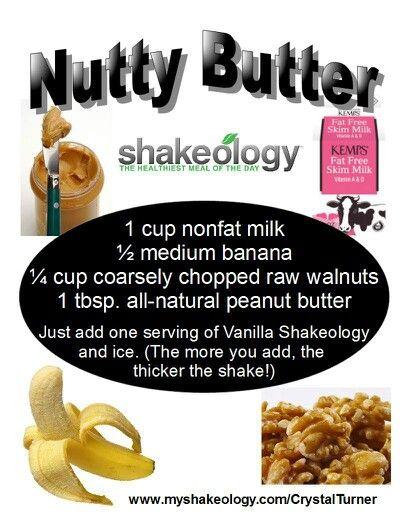 Another amazing Vanilla Shakeology recipe! Yummy! (: