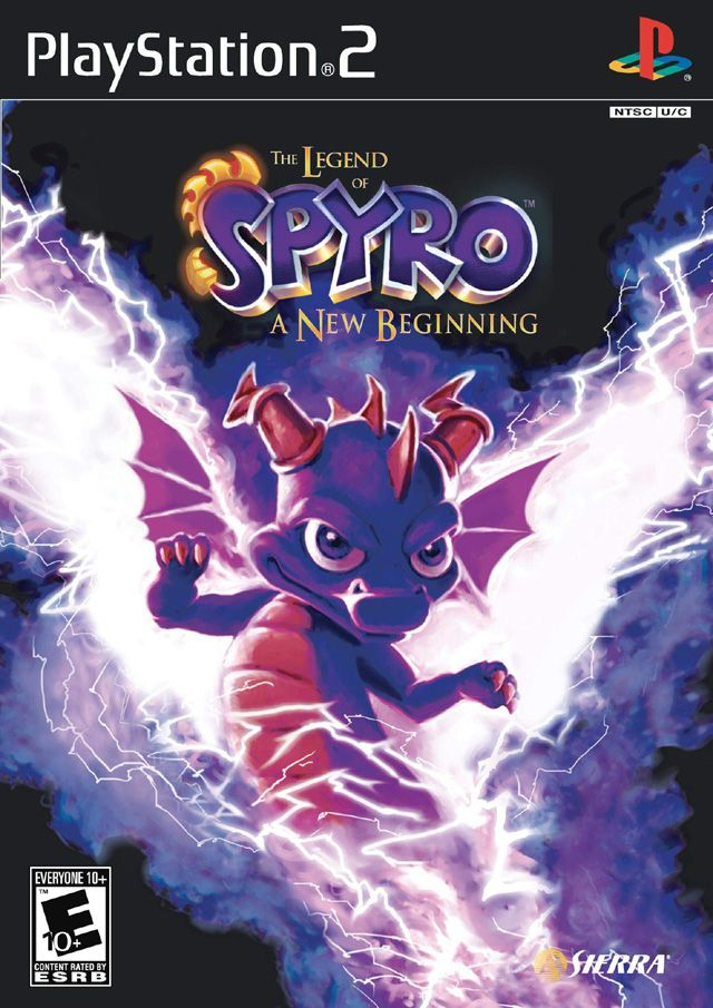 The Legend of Spyro: A New Beginning --- the only Spyro game (not including Skylanders: Spyro's Adventure and Skylanders: Giants) that I do not yet own!