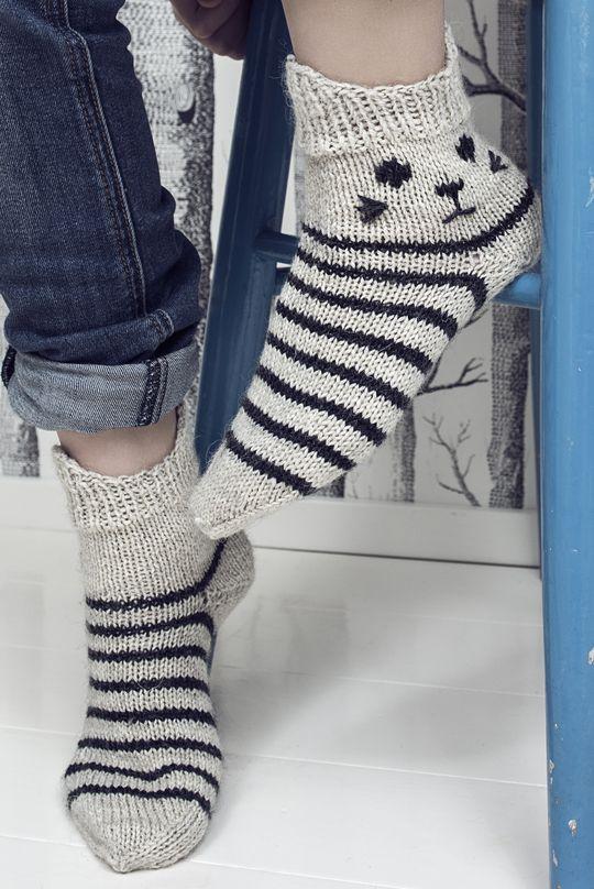 Villasukat Kiskis Novita Nalle | Novita knits