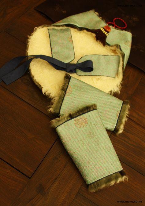 오리미한복 :: 한복 토시와 풍차 _추운 겨울날에도 맵시있는 한복