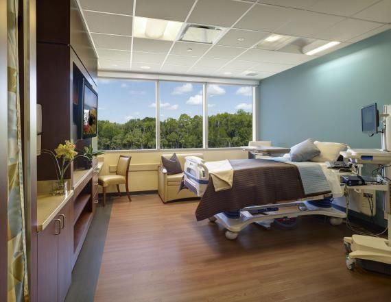 Patient Rooms On The Exterior Have An Abundance Of Natural