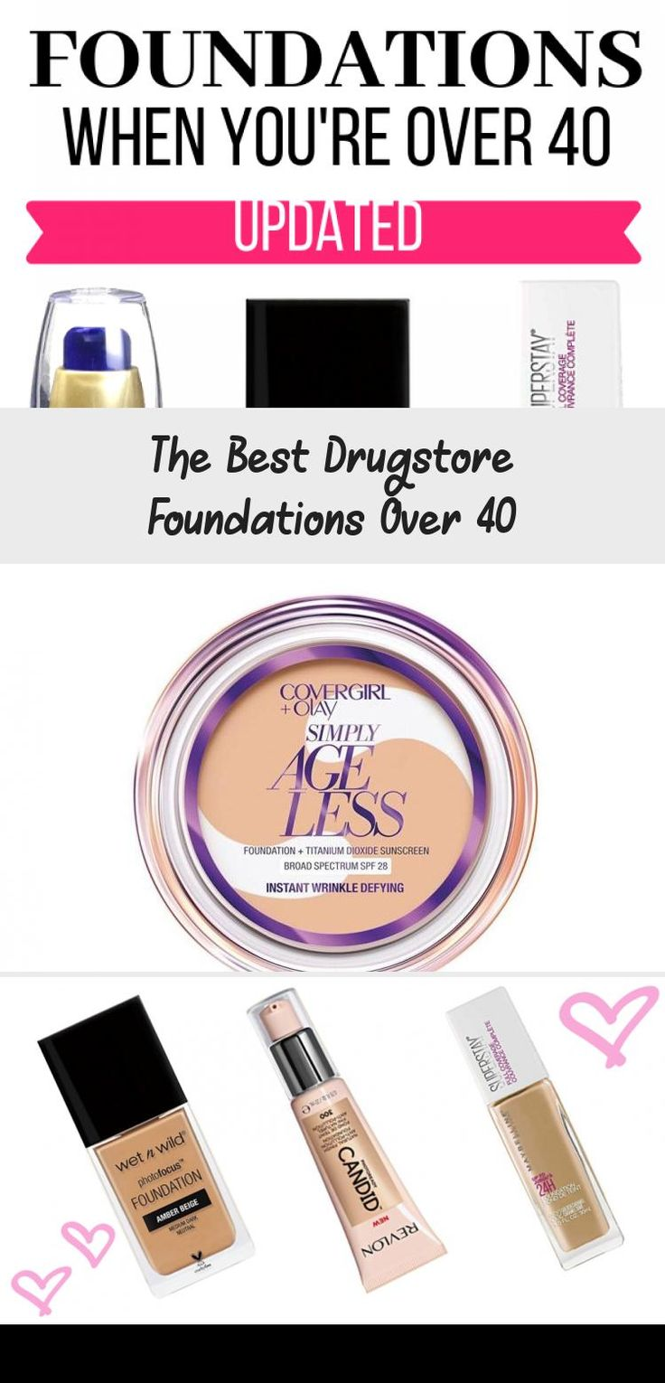 The Best Drugstore Foundations Over 40 in 2020 Best