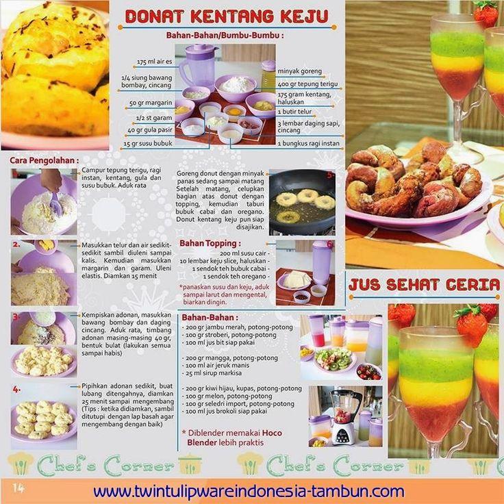 Chef's Corner : Resep Donat Kentang Keju